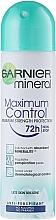 Fragrances, Perfumes, Cosmetics Deodorant Antiperspirant - Garnier Mineral Maximum Protection 72 Hours