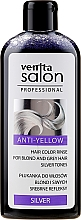 Fragrances, Perfumes, Cosmetics Blonde & Gray Hair Conditioner - Venita Salon Anty-Yellow Blond & Grey Hair Color Rinse Silver