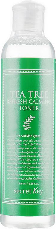 Face Toner for Problem Skin - Secret Key Tea Tree Refresh Calming Toner — photo N1