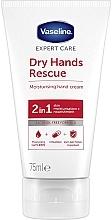 Fragrances, Perfumes, Cosmetics Antibacterial Hand Cream - Vaseline Expert Care Dry Hands Rescue 2in1 Moisturising Hand Cream