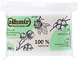 Fragrances, Perfumes, Cosmetics Cotton Buds, 160 pcs - Cashmir Natural Cotton Buds