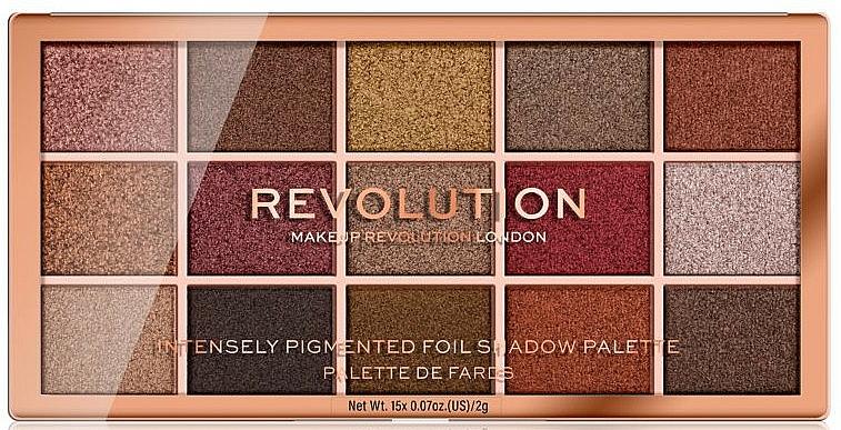 Eyeshadow Palette - Makeup Revolution Foil Frenzy Eye Shadow Palette