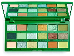 Fragrances, Perfumes, Cosmetics Eyeshadow Palette - I Heart Revolution Tasty Palette Avocado