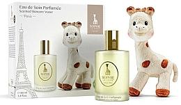 Fragrances, Perfumes, Cosmetics Parfums Sophie La Girafe - Set (water/100ml+toy)