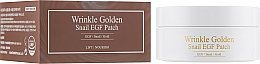 Fragrances, Perfumes, Cosmetics Hydrogel Gold & Snail Eye Patches - The Skin House Wrinkle Golden Snail EGF Patch