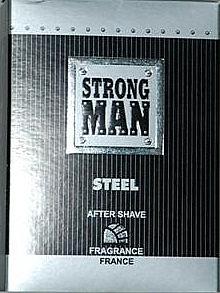 After Shave Lotion - Strong Men After Shave Steel