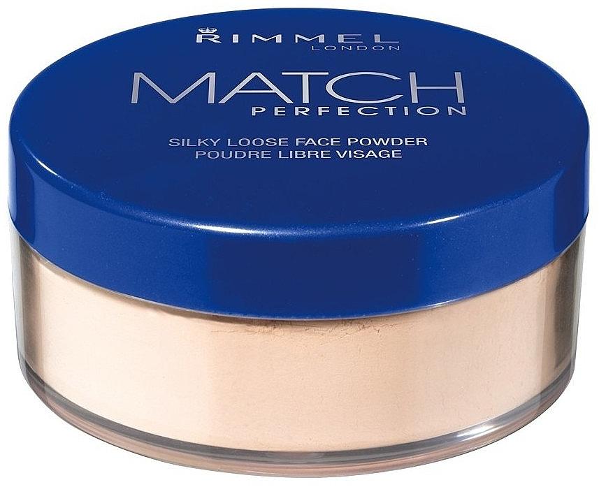 Loose Powder - Rimmel Match Perfection Silky Loose Powder