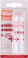 Fragrances, Perfumes, Cosmetics Lip Serum - Mixa Cica-Repair Lip Serum