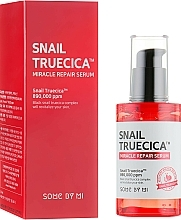 Fragrances, Perfumes, Cosmetics Black Snail Mucuc Repair Serum - Some By Mi Snail Truecica Miracle Repair Serum