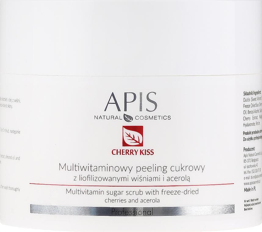 Multivitamin Sugar Peeling - APIS Professional Cheery Kiss