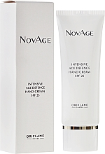 Fragrances, Perfumes, Cosmetics Intensive Age Defence Hand Cream - Oriflame NovAge Intensive Age Defence Hand Cream SPF25