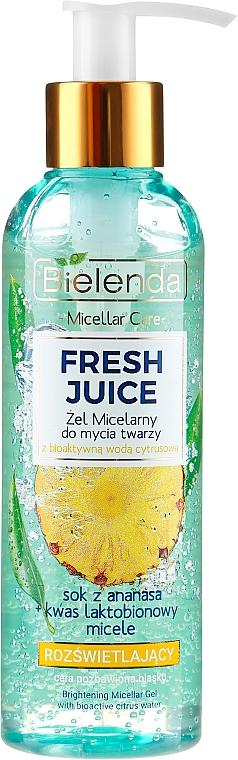 Skin Glowing Micellar Gel - Bielenda Fresh Juice Micellar Gel Pineapple