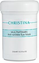 Fragrances, Perfumes, Cosmetics Multivitamin Eye Mask - Christina Multivitamin Anti-Wrinkle Eye Mask