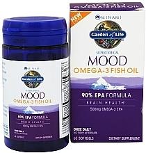 Fragrances, Perfumes, Cosmetics Omega-3 Fish Oil, softgels - Garden of Life Minami Mood Omega-3 Fish Oil