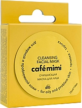 """Fragrances, Perfumes, Cosmetics Cleansing Face Mask for Oily & Problem Skin """"Tapioca"""" - Cafe Mimi Cleansing Mask"""