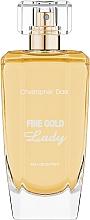 Fragrances, Perfumes, Cosmetics Christopher Dark Fine Gold Lady - Eau de Parfum