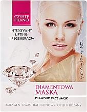 "Fragrances, Perfumes, Cosmetics Face Mask ""Brilliant"" - Czyste Piekno Diamond Face Mask"