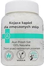 Fragrances, Perfumes, Cosmetics Soothing Anti Fatigue Foot Salt - Biomika