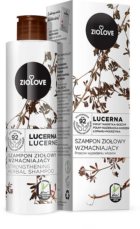 "Strengthening Hair Shampoo ""Alfalfa"" - Ziolove"