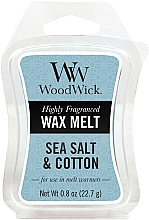 Fragrances, Perfumes, Cosmetics Scented Wax - WoodWick Wax Melt Sea Salt & Cotton