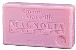 """Fragrances, Perfumes, Cosmetics Natural Soap """"Magnolia and Tea"""" - Le Chatelard 1802 Soap Magnolia and Tea Flowers"""