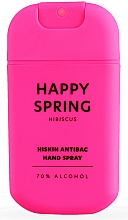 Fragrances, Perfumes, Cosmetics Virucidal Hibiscus Hand Spray - HiSkin Antibac Hand Spray Happy Spring