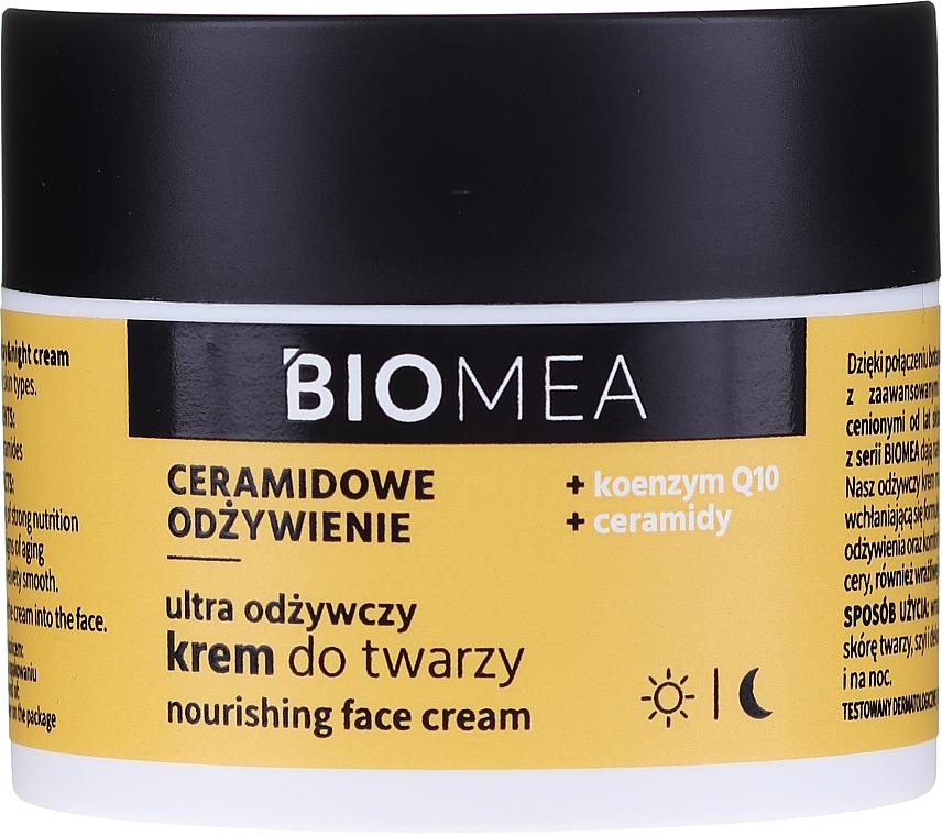 Nourishing Day & Night Face Cream with Coenzyme Q10 - Farmona Biomea Nourishing Face Cream