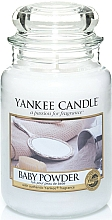 Fragrances, Perfumes, Cosmetics Candle in Glass Jar - Yankee Candle Baby Powder