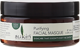Fragrances, Perfumes, Cosmetics Face Mask - Sukin Purifying Facial Masque