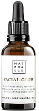 Fragrances, Perfumes, Cosmetics Face Serum - Matcha & Co Facial Glow Serum