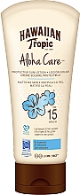 Fragrances, Perfumes, Cosmetics Sun Lotion for Body - Hawaiian Tropic Aloha Care Protective Sun Lotion Mattifies Skin SPF 15