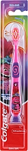 Fragrances, Perfumes, Cosmetics Kids Toothbrush, 2-6 yrs, pink-purple, troll - Colgate Smiles Kids Extra Soft