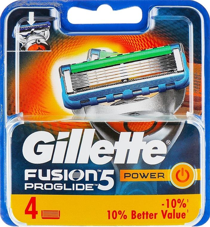 Shaving Razor Refills, 4 pcs. - Gillette Fusion ProGlide Power