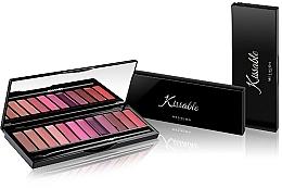Fragrances, Perfumes, Cosmetics Lipstick Palette - Mesauda Milano Kissable Lip Palette