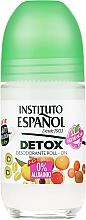 Fragrances, Perfumes, Cosmetics Roll-On Body Deodorant - Instituto Espanol Detox Deodorant Roll-on