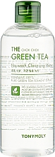 Fragrances, Perfumes, Cosmetics Cleansing Face Water - Tony Moly The Chok Chok Green Tea No-Wash Cleansing Water