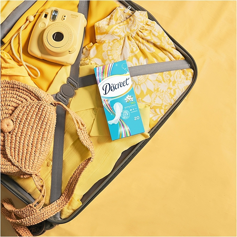 Daily Deo Spring Breeze Liners , 60 pcs - Discreet — photo N7