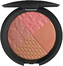Fragrances, Perfumes, Cosmetics Compact Blush - Nouba Collision Multicolor Blush