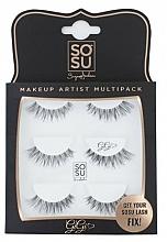 "Fragrances, Perfumes, Cosmetics False Lashes Kit ""Gigi"" - Sosu by SJ Makeup Artist Multipack Eyelashes"