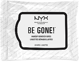 Fragrances, Perfumes, Cosmetics Makeup Remover Wipes - NYX Professional Makeup Be Gone! Makeup Remover Wipes