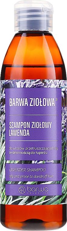 Oily and Prone to Dandruff Hair Shampoo - Barwa Herbal Lavender Shampoo
