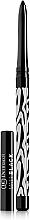 Fragrances, Perfumes, Cosmetics Matte Eye Pencil - Dermacol Make-Up Black Sensation Matt black