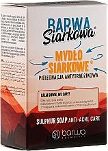Fragrances, Perfumes, Cosmetics Antibacterial Sulfuric Soap - Barwa Anti-Acne Sulfuric Soap