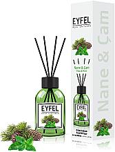"Fragrances, Perfumes, Cosmetics Reed Diffuser ""Mint"" - Eyfel Perfume Reed Diffuser Mint"
