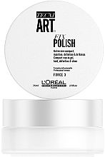 Fragrances, Perfumes, Cosmetics Texturizing Gel-Wax for Short Hair - L'Oreal Professionnel Tecni.Art Fix Polish Gel-Wax