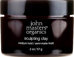 Fragrances, Perfumes, Cosmetics Modeling Clay with Matte Effect - John Masters Organics Sculpting Clay Medium Hold Matte Finish