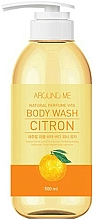 Fragrances, Perfumes, Cosmetics Shower Gel with Citron Extract - Welcos Around Me Natural Perfume Vita Body Wash Citron