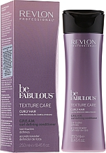 Fragrances, Perfumes, Cosmetics Curly Hair Conditioner - Revlon Professional Be Fabulous Care Curly Conditioner