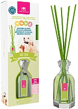 "Fragrances, Perfumes, Cosmetics Pet Odor Eliminator Reed Diffuser ""Garden"" - Cristalinas Reed Diffuser"