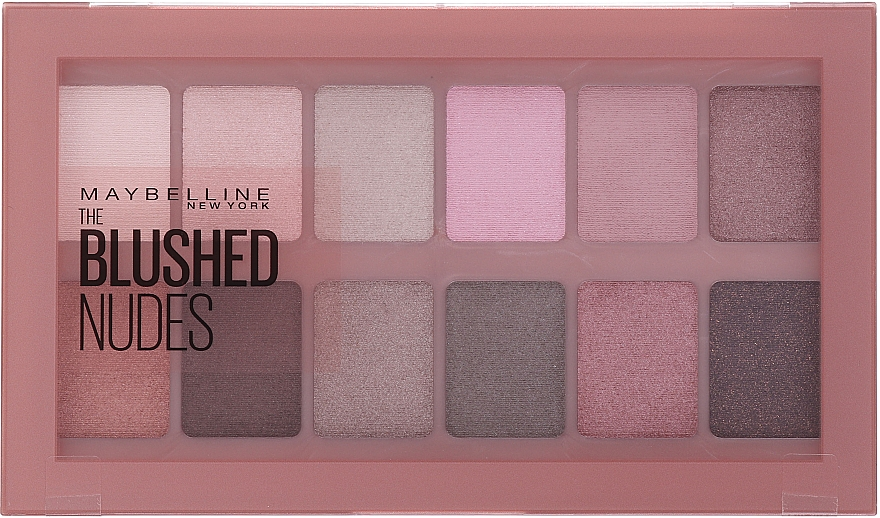 Eyeshadow Palette 12 Shades - Maybelline The Blushed Nude